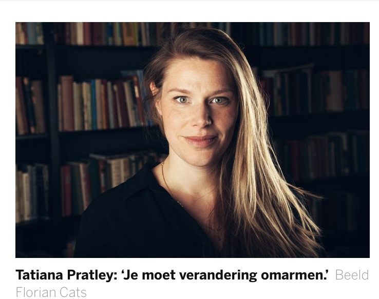 Tatiana Pratley per 1 september 2020 artistiek leider bij Tryater